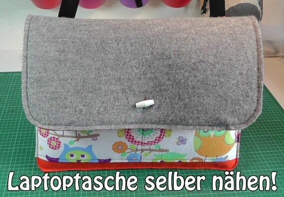Schnittmuster Laptoptasche | Etsy