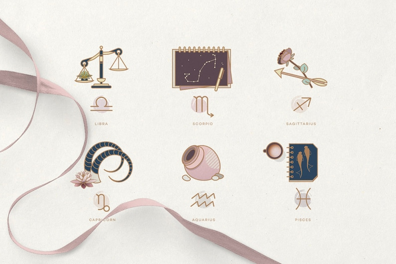 The Ultimate Astrology Icon Pack for Women