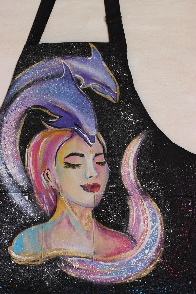 Personalized Apron for Women  ~ Custom Art Apron ~  Craft Apron