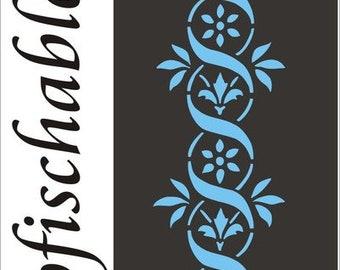 stupf template decor template stencil-Kakadu children/'s motif painter templates decor template Children/'s stencil stencils Wall mask