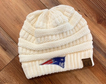e2956991a37 New England Patriots CC knitted Classic Beanie Hat