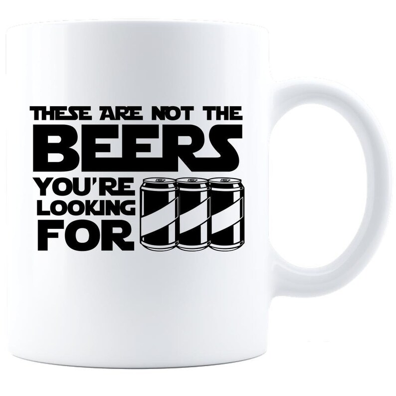 These Are Not The Beers You Are Looking For  Coffee Mug  image 0