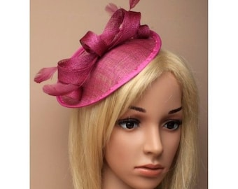 d7e748342ed3f large raspberry pink fascinator