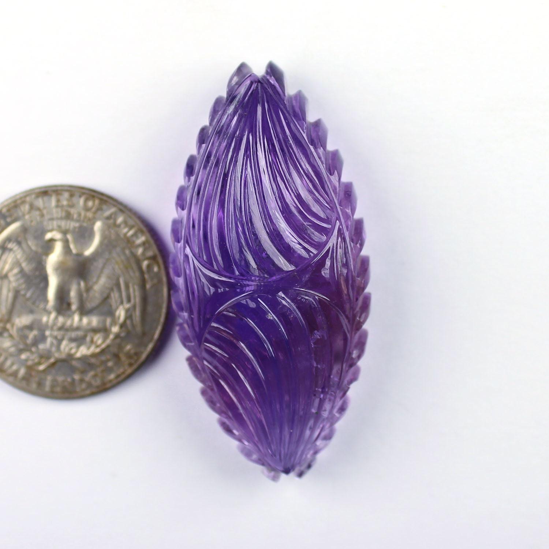 1 1 1 Pcs naturel violet améthyste sculpture Pierre, Super qualité de sculpture en pierre, sculpté à la main & concepteur améthyste pierres précieuses, de sculpture 1035 6d8074