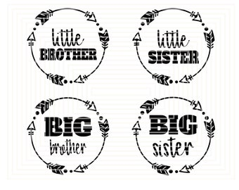 Little Brother Svg Etsy