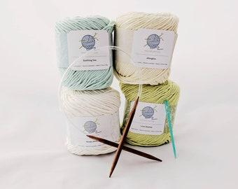 Mindfulness Beginner's Knitting Kit +  FREE eBook: Knitting 101 - Zen