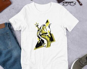 78f1f0073b Unisex Venomous Snake T-Shirt