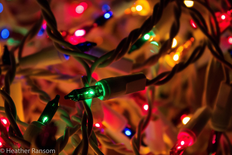 image 0 - Tangled Christmas Lights