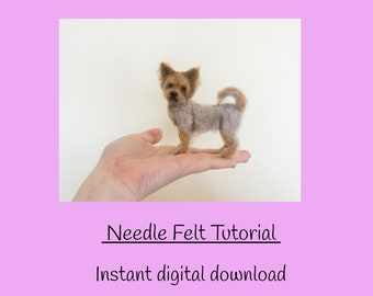 Crochet Parfait: Amigurumi Yorkie Tutorial | Tiere häkeln, Hund ... | 270x340