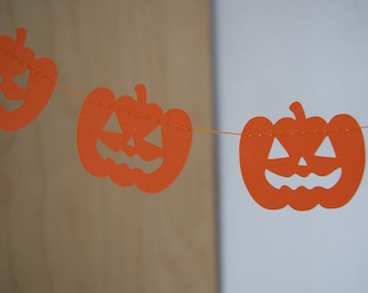 Paper garland - Pumpkins