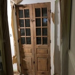 Custom Built: Glass French Doors Sliding Door