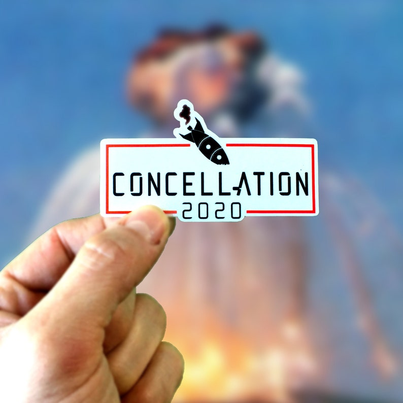 Concellation 2020 stickers image 0