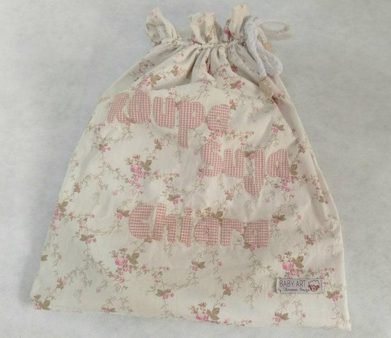 Organized Mom Wet Clothes Personalized Product Clothe Bag Plasticized Blag Babys Bag Laundry Bag