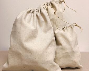 12+ Eco-Friendly Bags, 4x6, Hemp Bags, Party Favor Bags, Drawstring Bags, Hemp Drawstring Bags, Sustainable Packaging