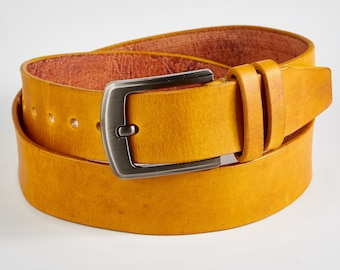 MENS ITALIAN SUEDE LEATHER BELT 35MM TAN BLUE GREY BROWN BLACK MUSTARD