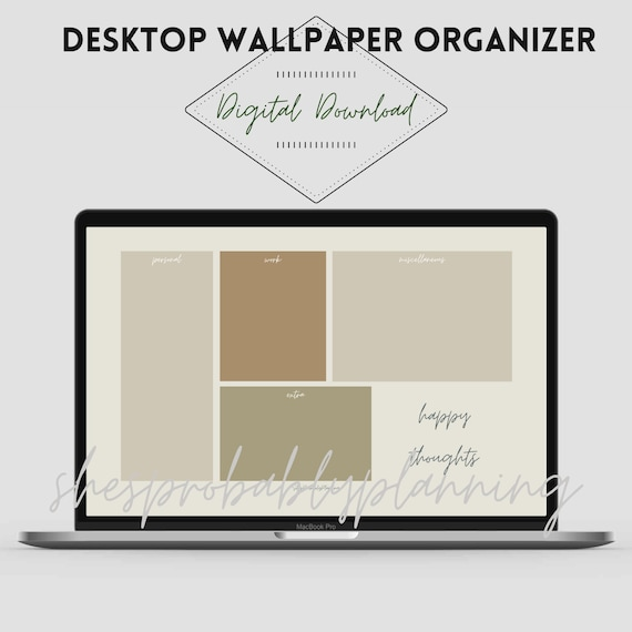Organized Wallpaper