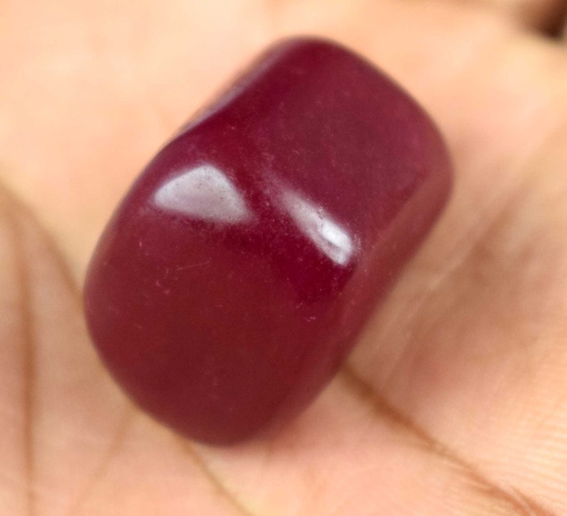 81.15 Carat Natural Fancy Shape Pigeon Blood Red Ruby Loose Top Quality Gemstone