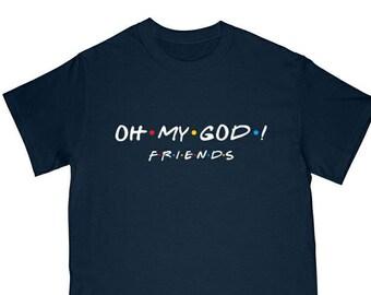 9e48c339851 Oh my god Janice friends logo shirt