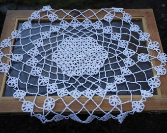 FLOWER OF LIFE Tutorial crochet Doily