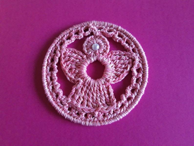 ANGEL Crochet tutorial DREAMCATCHER