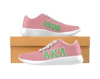 new product 4116f 11bfe Alpha Kappa Alpha AKA Running Shoes