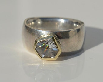 BORDEAUX Rock Crystal Gr: 55.5 Silver and 333 Gold