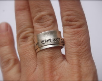 FAMILY DREHRING Silver, stamped and blackened