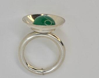 GREEN Emerald Green Agate,