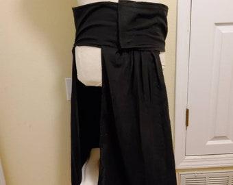 Boba Fett inspired sash, mandalorian post sarlack Hakama  cummerbund.