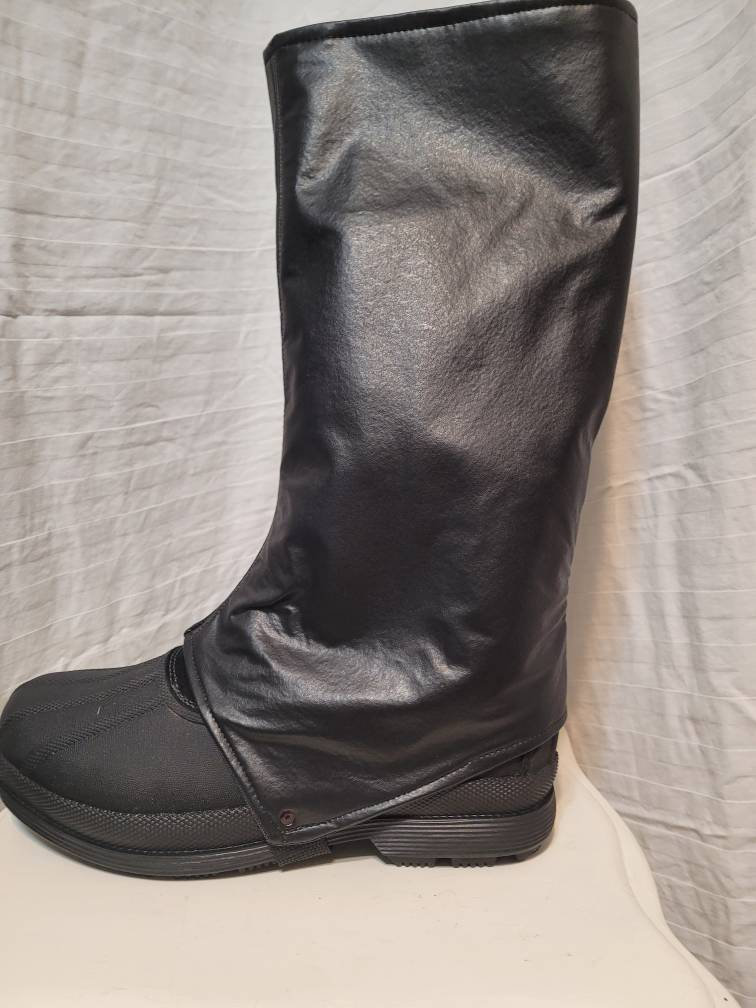 Spats, Gaiters, Puttees – Vintage Shoes Covers Boba Space Merc Fett Boot Covers, Mando Inspired, Space Mercenary, Gaitors, Spats, Bounty Hunter $85.00 AT vintagedancer.com