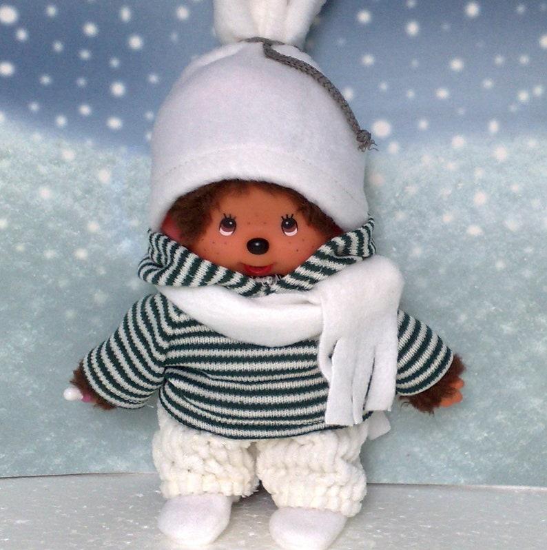 Puppen & Zubehör Hose blau pssend für MONCHHICHI Monchichi 20 cm Neu Kleidung Hoodie
