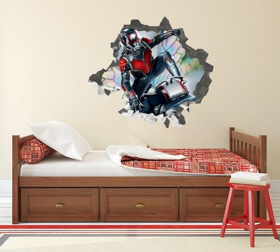 Avengers Endgame Gamora Marvel Custom Wall Decals 3D Wall Stickers Art JS711