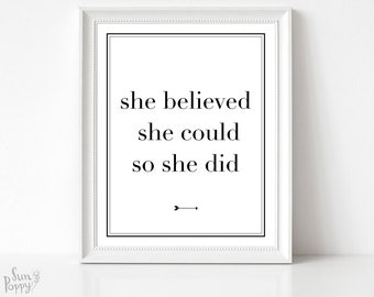With Brave Wings She Flies Printable Instant Download Etsy