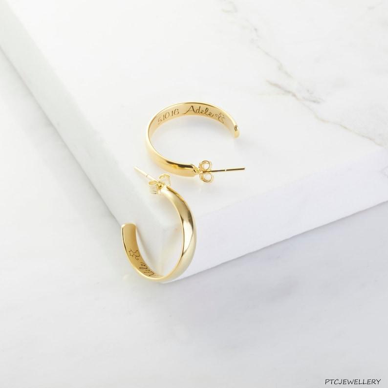 da32dc17949e Hoop Earrings Dainty Hoop Earrings Sterling Silver