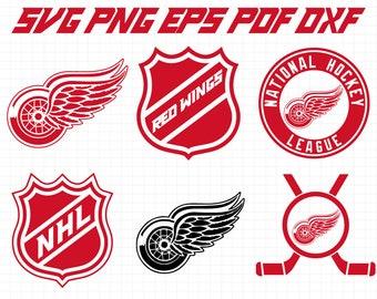 Detroit Red Wings Svg SvgNHL Hockey Cricut Download