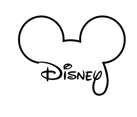 Disney Mickey Mouse Svg Mickey Mouse Head Outline Svg Files Etsy