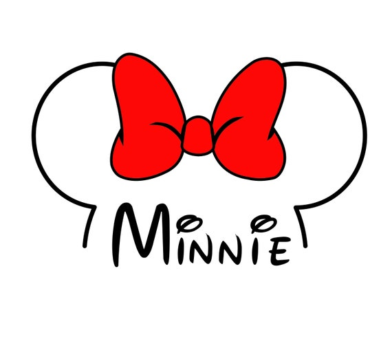 Disney Mickey Mouse Svg Mickey Mouse Head Outline Svg Minnie Etsy