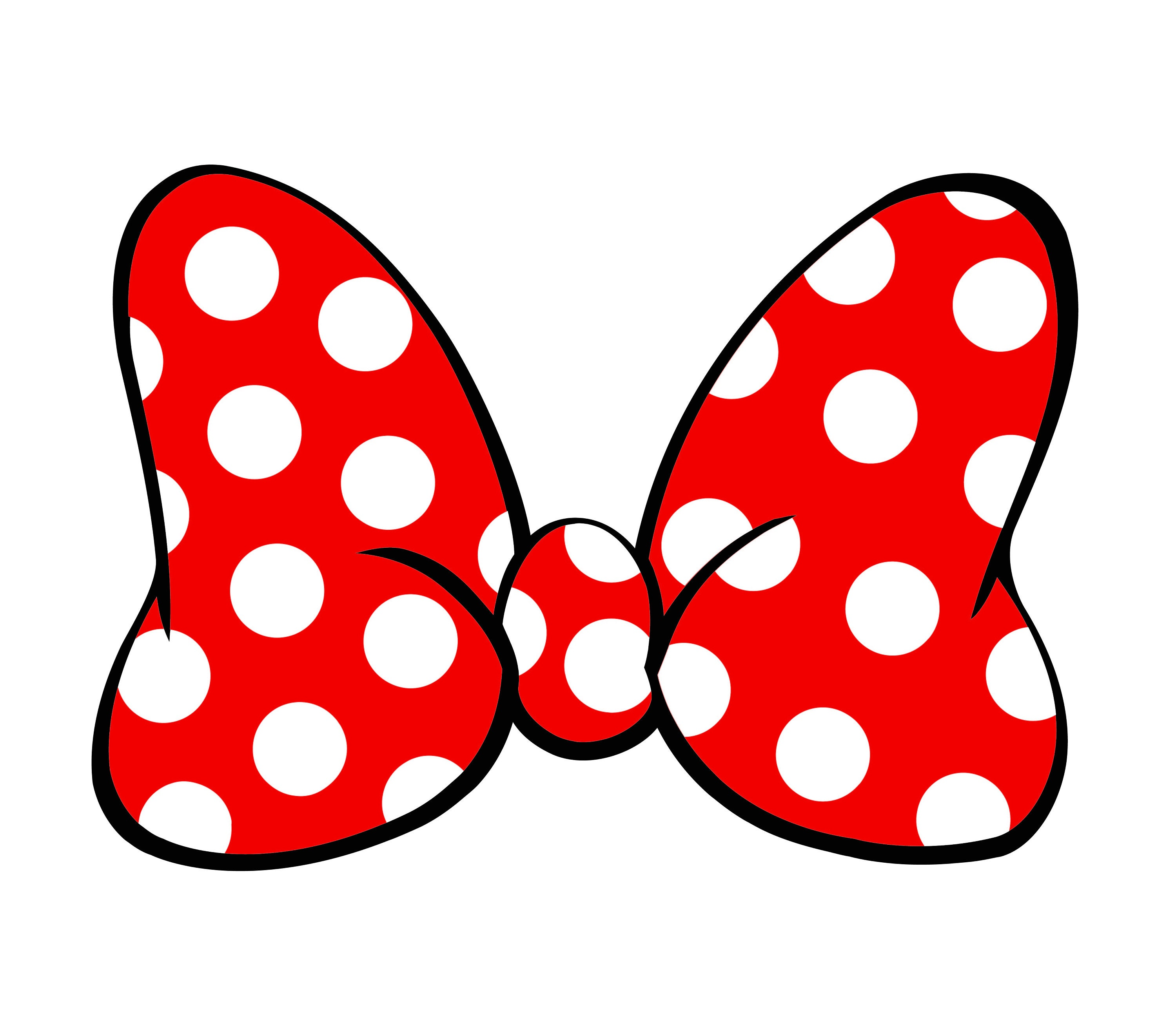 It's just a graphic of Unusual Printable Minnie Mouse Bow