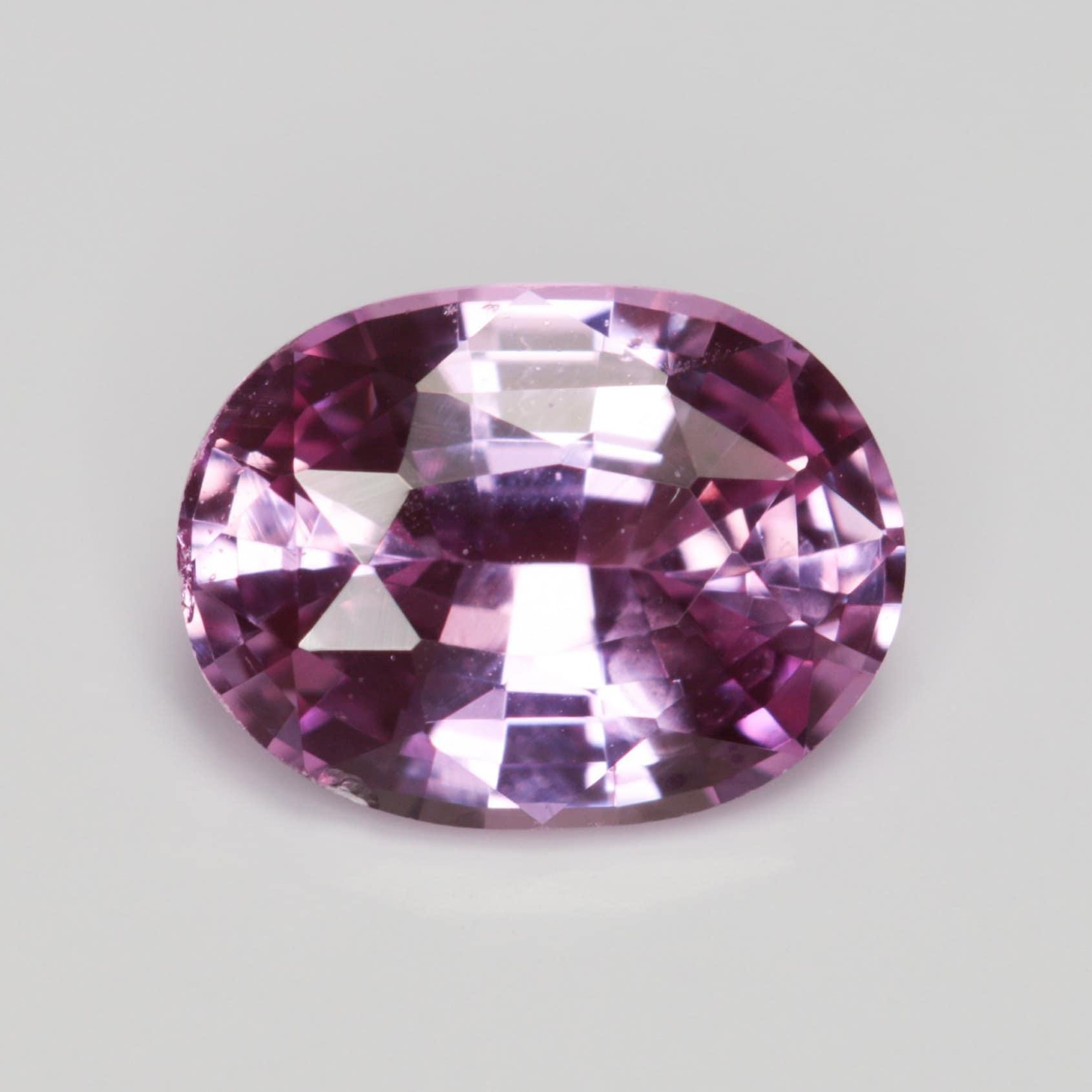 0,851 carat rose saphir très bonne 5,00 coupe ovale 6,66 x 5,00 bonne mm chauffé Pierre lâche 28e06b