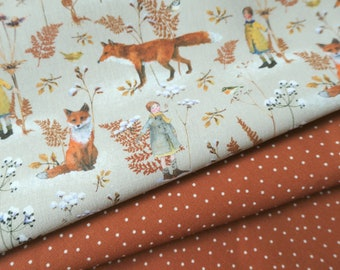 """Acufactum fabric package """"Fuchsliebe"""" rust brown 2h."""