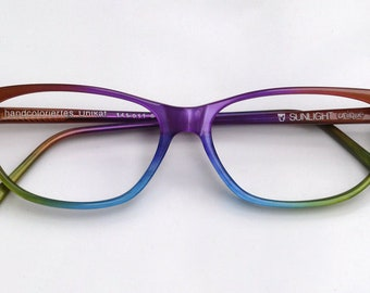 65dbde1fea Eyeglass frame hand painted