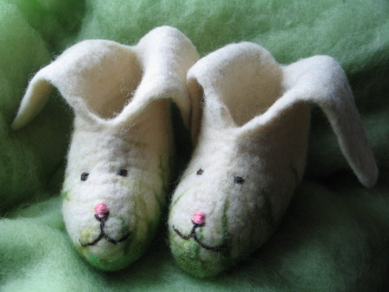 Felt Slippers felt Shoes Mats and Mia Size. 21-35 image 0