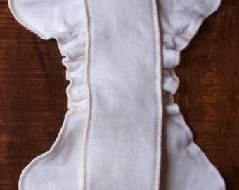 Diaper Inserts- Handmade Organic Cotton/Hemp/Bamboo Fleece - Newborn and One Size