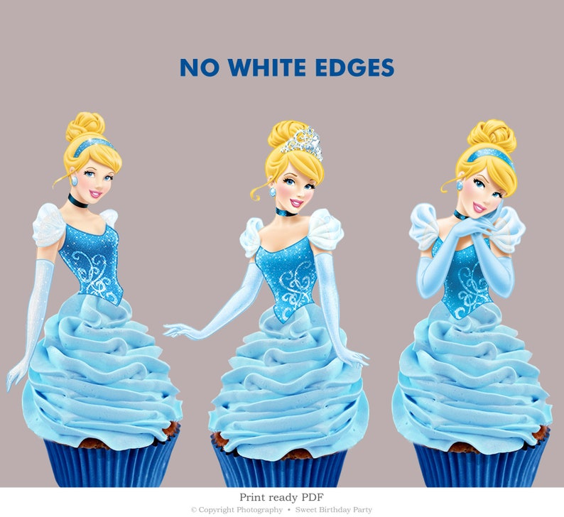 graphic relating to Cupcake Printable identify Cinderella Cupcake Topper Printable, Disney Princess Cake Topper Template, Do it yourself Cupcake Toppers, Birthday Decoration Prompt Obtain CBS21