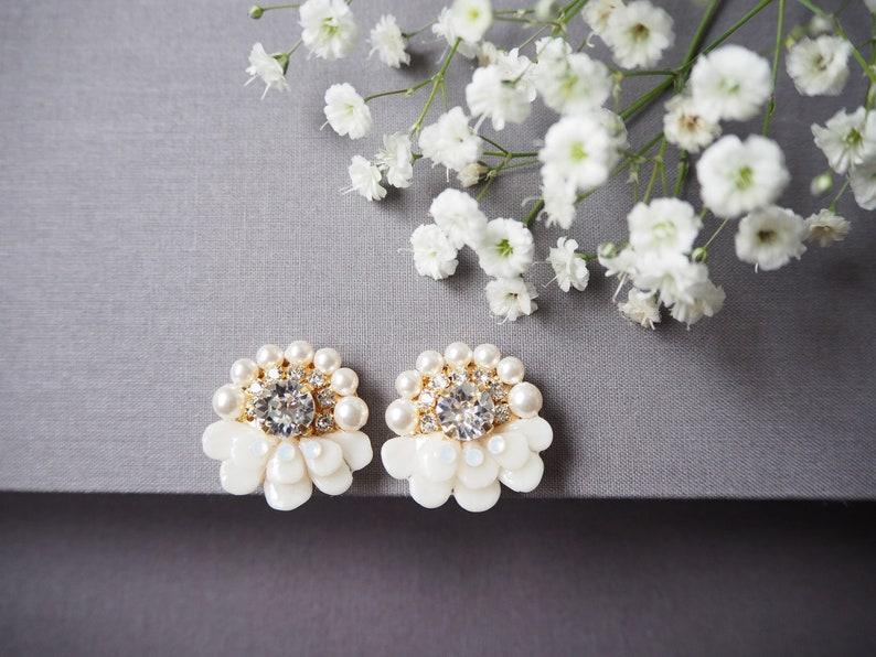 ea0a039259 Flower Petal Earrings