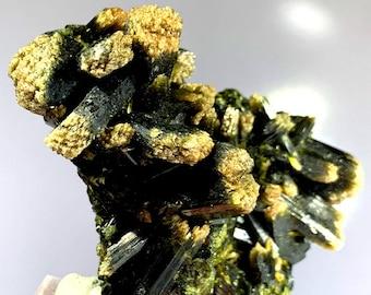 21 Gram Top Quality Rare MagnetieEpidote Specimen@Afghanistan