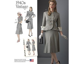 1940s Two Piece Etsy