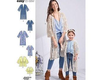 bef663794df Kimono jacket pattern