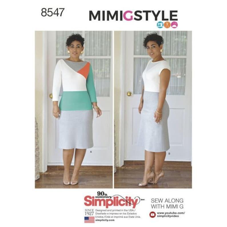 Simplicity 8227 Misses/' Miss Petite Dresses   Sewing Pattern