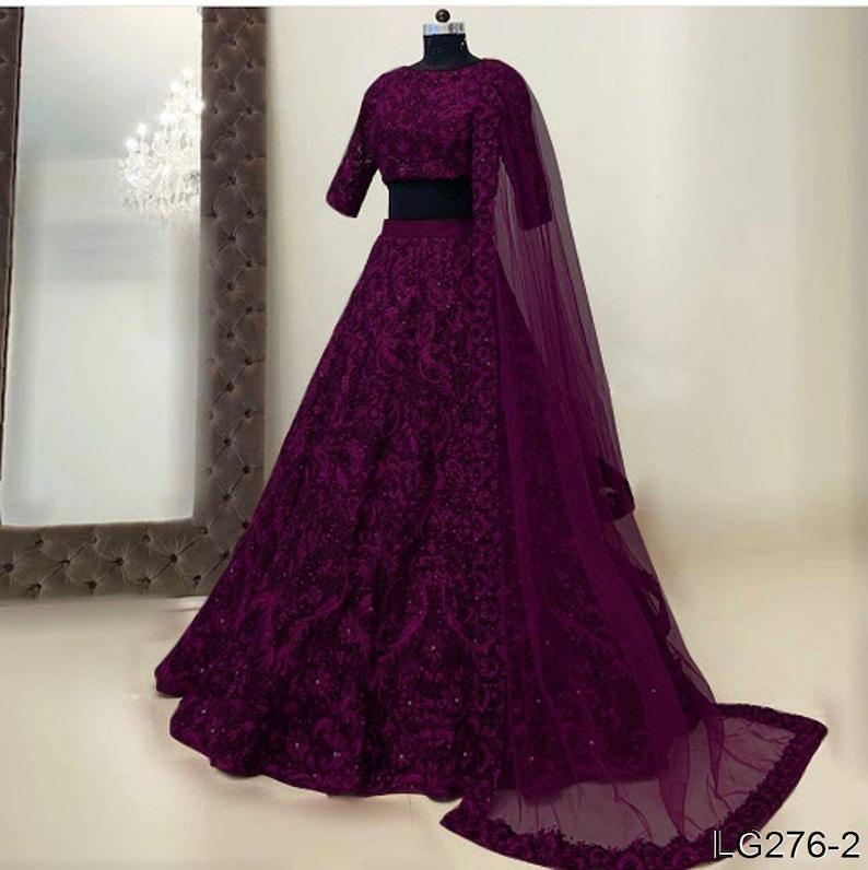 Designer lehenga choli Indian Pakistani wedding bridesmaids dress Ghagra choli chaniya choli